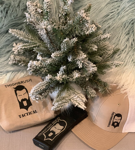 THIGHBRUSH® TACTICAL Under the Christmas Tree