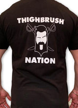 THIGHBRUSH NATION - Men's T-Shirt - Black and White
