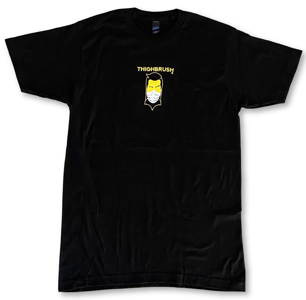 "LIMITED EDITION - THIGHBRUSH® - ""COVID-69"" - Men's T-Shirt - Black"