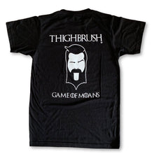 "THIGHBRUSH® ""GAME OF MOANS"" - MEN'S T-SHIRT - BLACK"