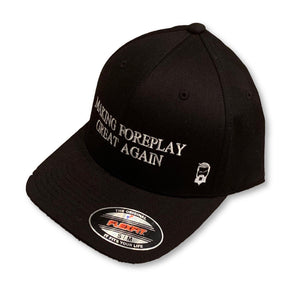 "THIGHBRUSH® - ""Making Foreplay Great Again"" - FlexFit Hat - Black - thighbrush"