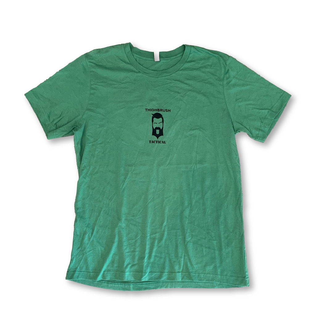 "THIGHBRUSH® TACTICAL - ARMED FORCES COLLECTION - ""For Those ""Special"" Ops"" - Men's T-Shirt - Green and Black - thighbrush"