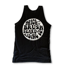 THIGHBRUSH® BEARD RIDING COMPANY - Men's Tank Top - Black - thighbrush