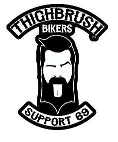 "THIGHBRUSH BIKERS - ""SUPPORT 69"" - Sticker"