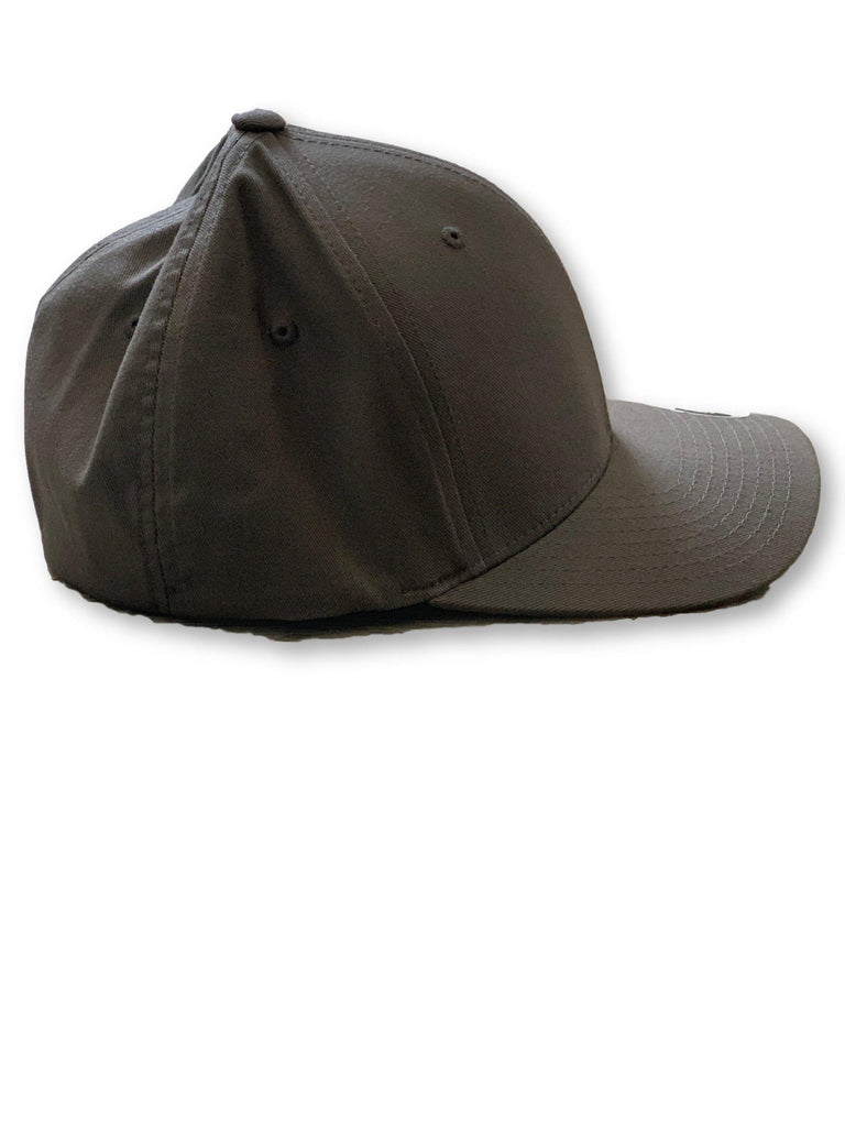 "THIGHBRUSH® BIKERS - ""THIGHBRUSH APPAREL COMPANY"" - FlexFit Hat - Charcoal Grey - thighbrush"