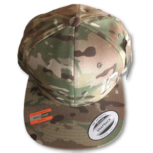 THIGHBRUSH TACTICAL - SnapBack Hat - Multicam - Swollen Labe - THIGHBRUSH®