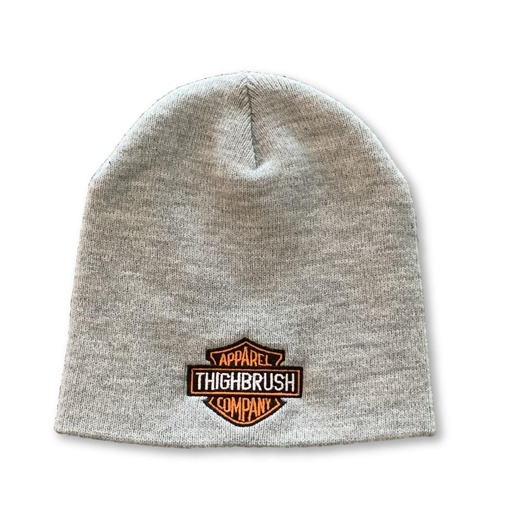 THIGHBRUSH® APPAREL COMPANY Beanies - Patch on Front - Grey