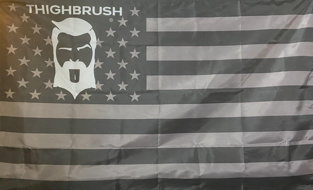 THIGHBRUSH® Logo Patriotic Flag - 3' x 5' - THIGHBRUSH®