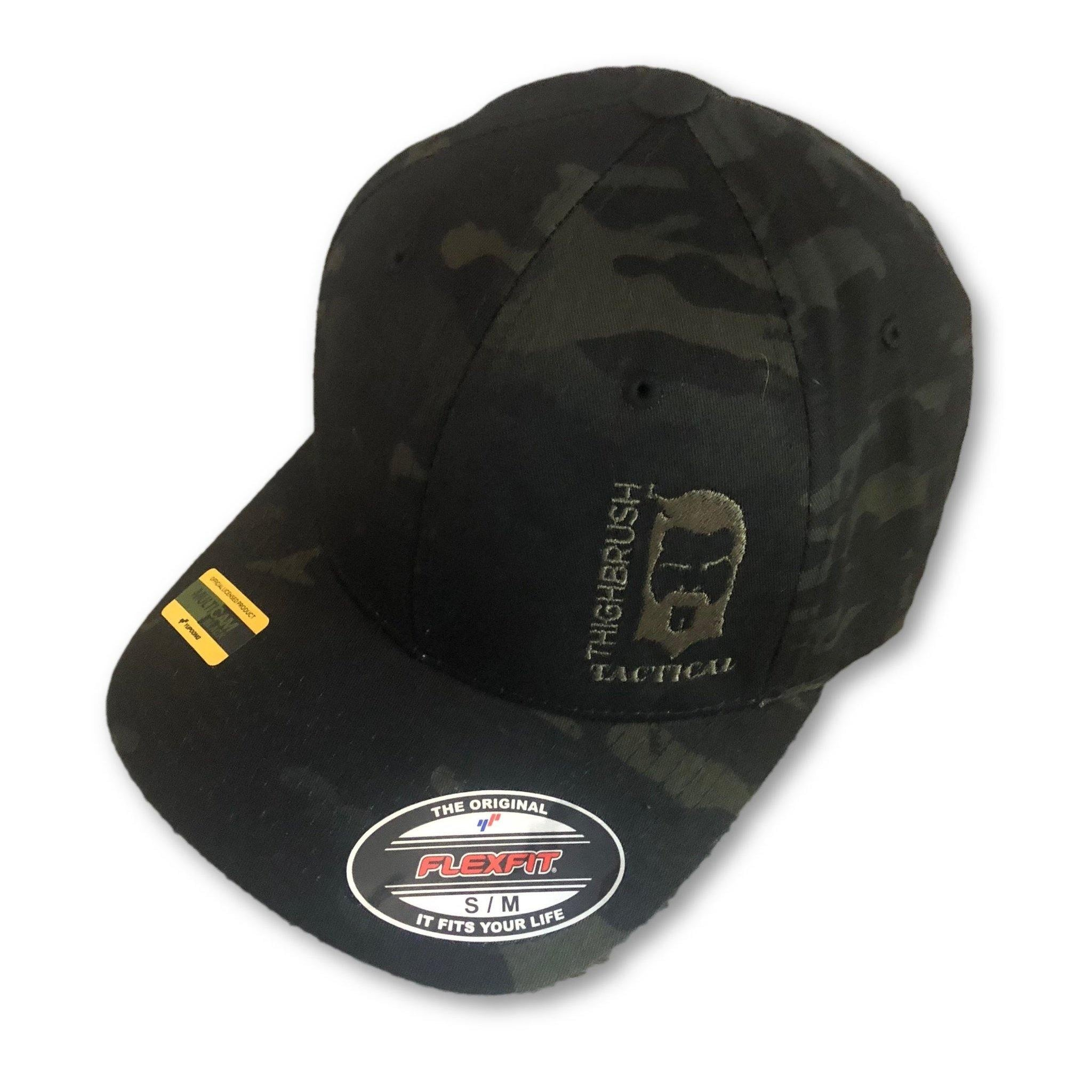 THIGHBRUSH TACTICAL - FlexFit Hat - Multicam Black - Squeal Team Six 11cb750cfe3