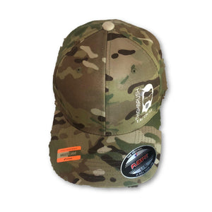 THIGHBRUSH TACTICAL - FlexFit Hat - Multicam - Squeal Team Six