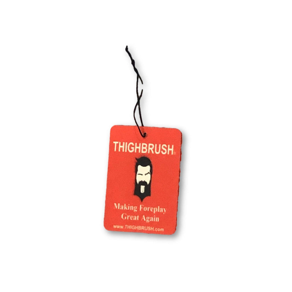 "THIGHBRUSH® - ""Making Foreplay Great Again"" - Air Freshener - Cherry - thighbrush"