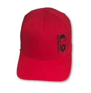 THIGHBRUSH® - FlexFit Hat - Red with Black - #THIGHBRUSHNATION - thighbrush