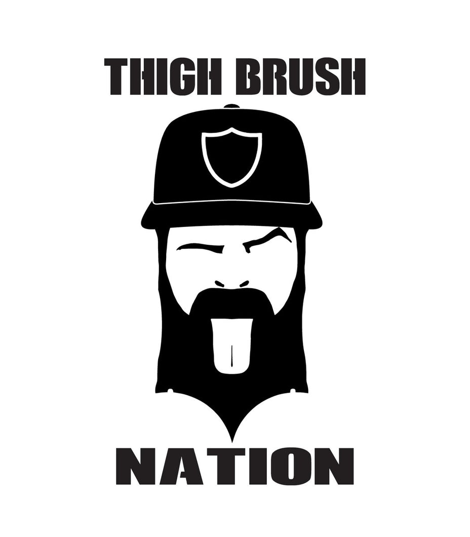 THIGHBRUSH NATION - Sticker