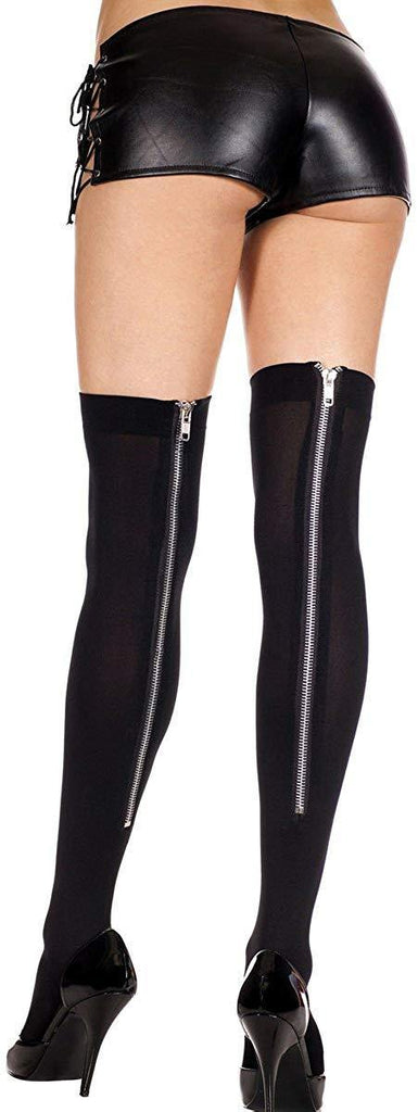 THIGHBRUSH® - Zipper Back Thigh Hi - Black