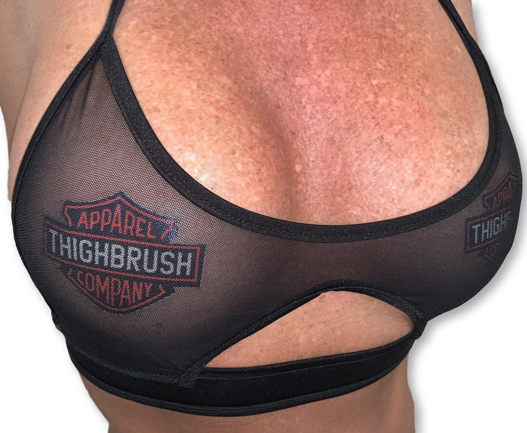 "Pastease® Premium Pasties - THIGHBRUSH® APPAREL COMPANY"" - Logo in Black"