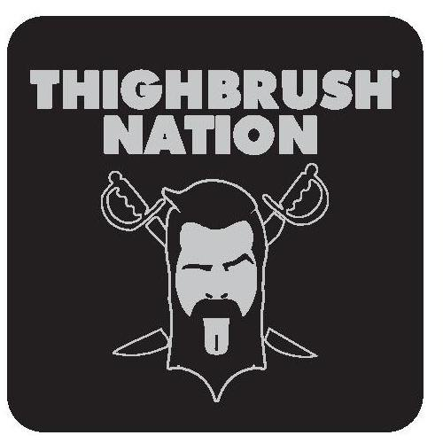 THIGHBRUSH® NATION - Sticker - Small