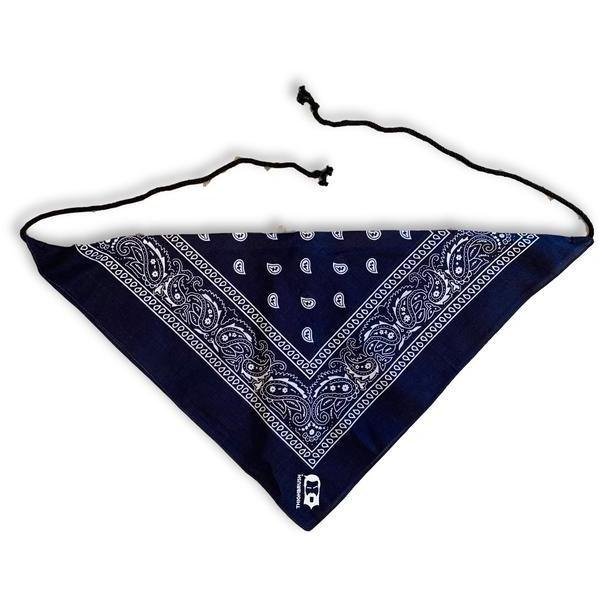 THIGHBRUSH® - Women's Bandana Top - Black, Navy Blue or Red - thighbrush