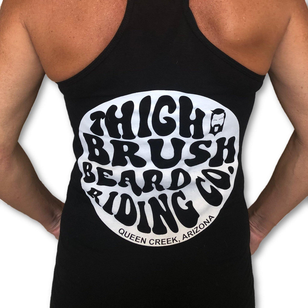 THIGHBRUSH BEARD RIDING COMPANY - Women's Logo Tank Top - Black - THIGHBRUSH®
