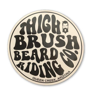 THIGHBRUSH BEARD RIDING COMPANY - Sticker - THIGHBRUSH®