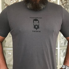 "THIGHBRUSH® TACTICAL - ""No Night Vision Required"" - Men's T-Shirt - Grey and Black - thighbrush"