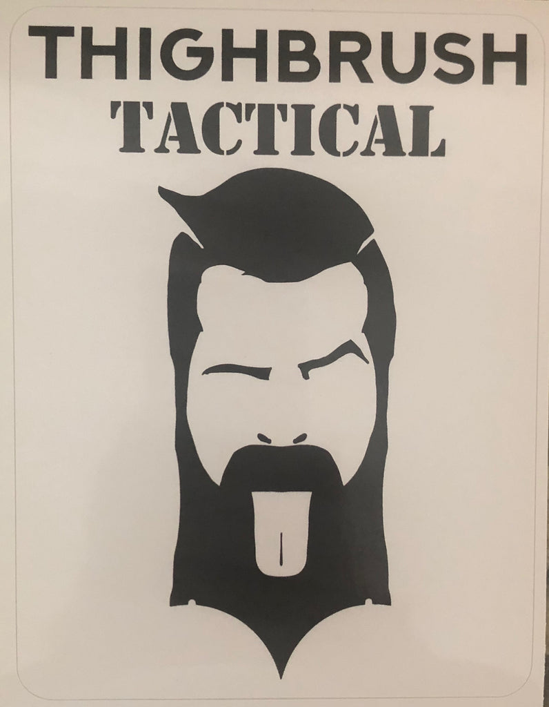THIGHBRUSH TACTICAL - Sticker - thighbrush