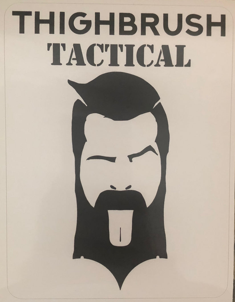 THIGHBRUSH TACTICAL - Sticker