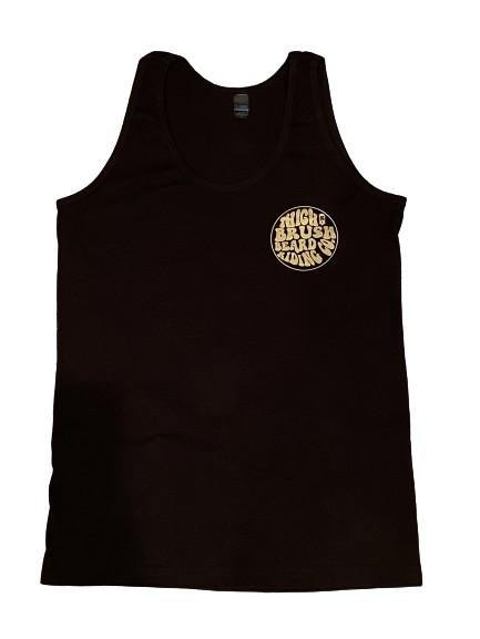THIGHBRUSH® BEARD RIDING COMPANY - Men's Tank Top - Black with Gold