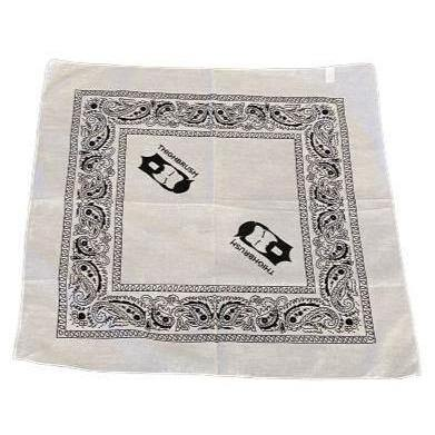 THIGHBRUSH® - Logo Bandana - White