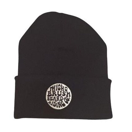 THIGHBRUSH® BEARD RIDING COMPANY - Cuffed Beanies - Navy Blue