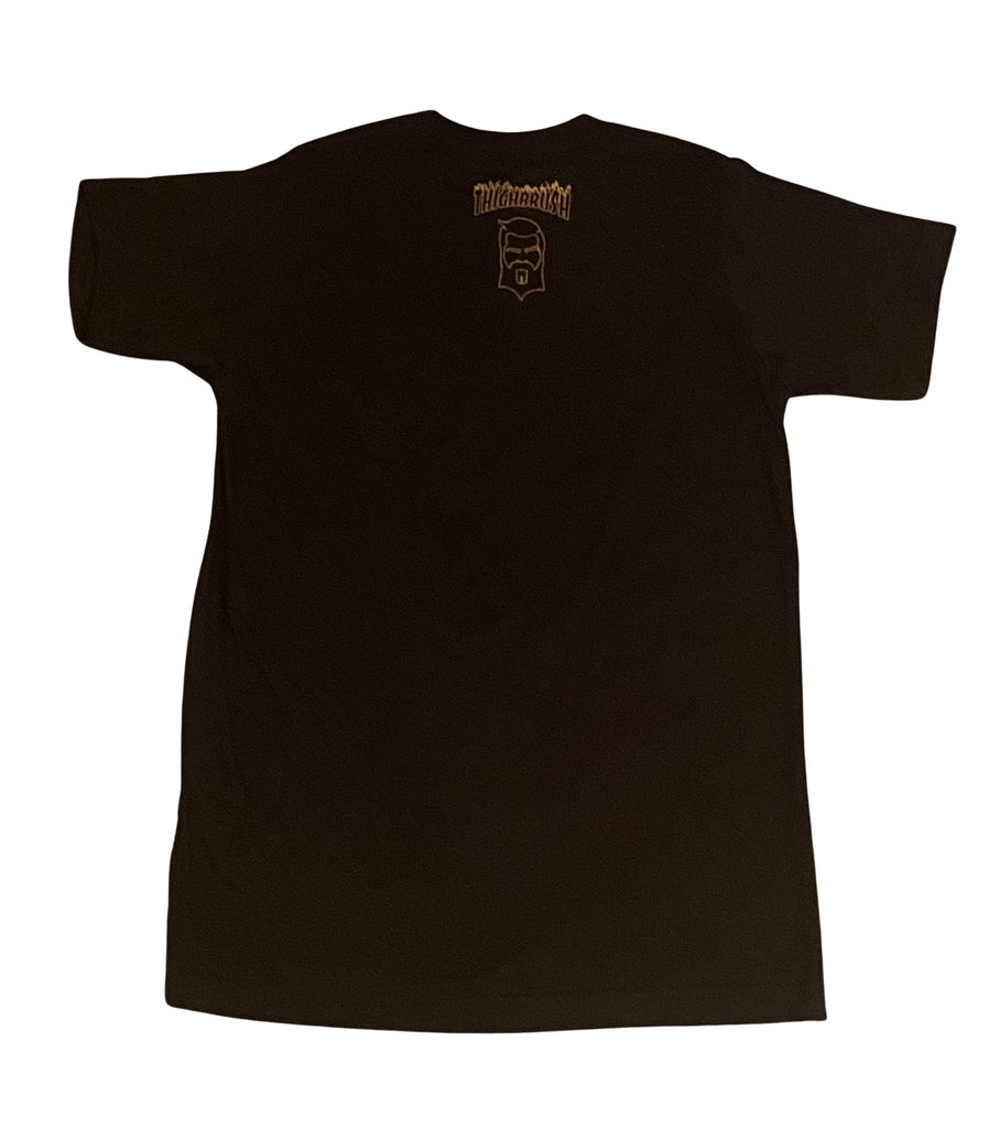 "PREMIUM EDITION - THIGHBRUSH® APPAREL - ""En Fuego"" - Men's T-Shirt - Black"