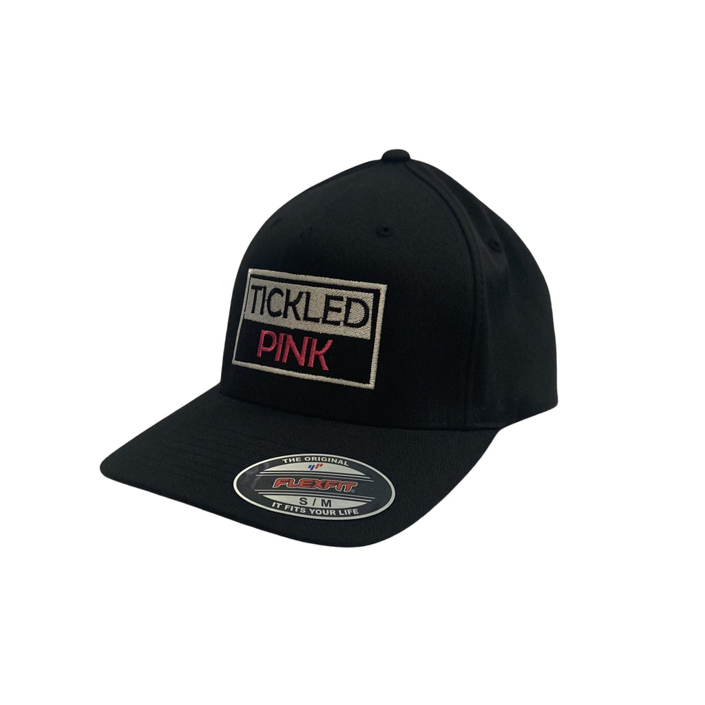 "THIGHBRUSH® ""TICKLED PINK"" - FlexFit Hat - Black"