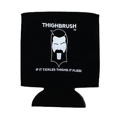"THIGHBRUSH® - ""If it Tickles Thighs, it Flies!"" - Beverage Cooler, Drink Cooler, Can Cooler - THIGHBRUSH®"
