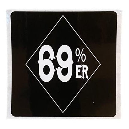 "THIGHBRUSH® ""69% ER Diamond Collection"" - Sticker"