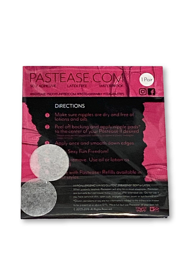 "Pastease® Premium Pasties - THIGHBRUSH® ""Making Foreplay Great Again"" - Cross in Black"