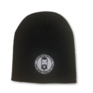 "THIGHBRUSH® TACTICAL Beanies - ""For Those Special Ops"" Patch on Front - Black - thighbrush"