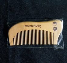 "THIGHBRUSH Natural ""Wood"" Beard Comb - thighbrush"