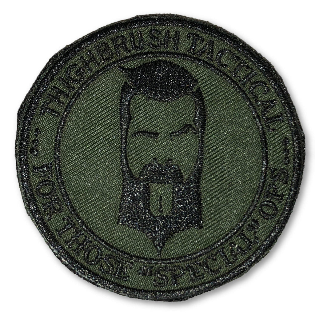 "THIGHBRUSH TACTICAL - MORAL PATCH ""For Those Special Ops"" Olive Green (Velcro Backing) - thighbrush"