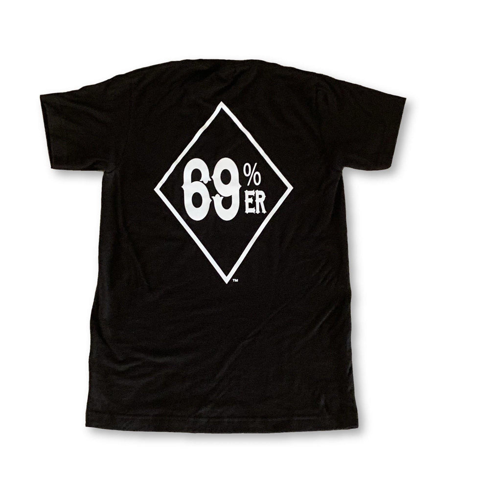 "THIGHBRUSH® ""69% ER™ DIAMOND COLLECTION"" - Men's T-Shirt - Black"