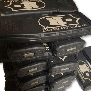 "THIGHBRUSH TACTICAL - ""Licked and Loaded"" MAGPUL AR-15 - 30 Round - Custom Magazine - thighbrush"