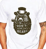 BEARD tshirt men soft Breathable comfort
