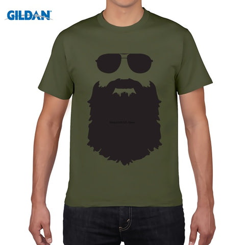 Hiphop  Brand Funny  Beard T-shirt