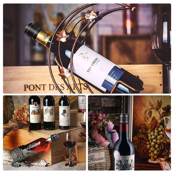 Bottle Password Lock Red Wine Stopper New Combination Vacuum High Quality Picks Conservation Liquor Wine Liquor Bottles Tools - A Little Of Dis And Dat