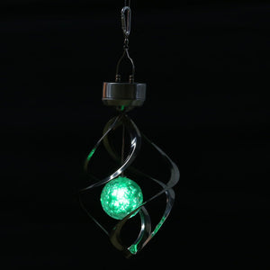 Led Color Changing Solar Wind Chime Light - A Little Of Dis And Dat