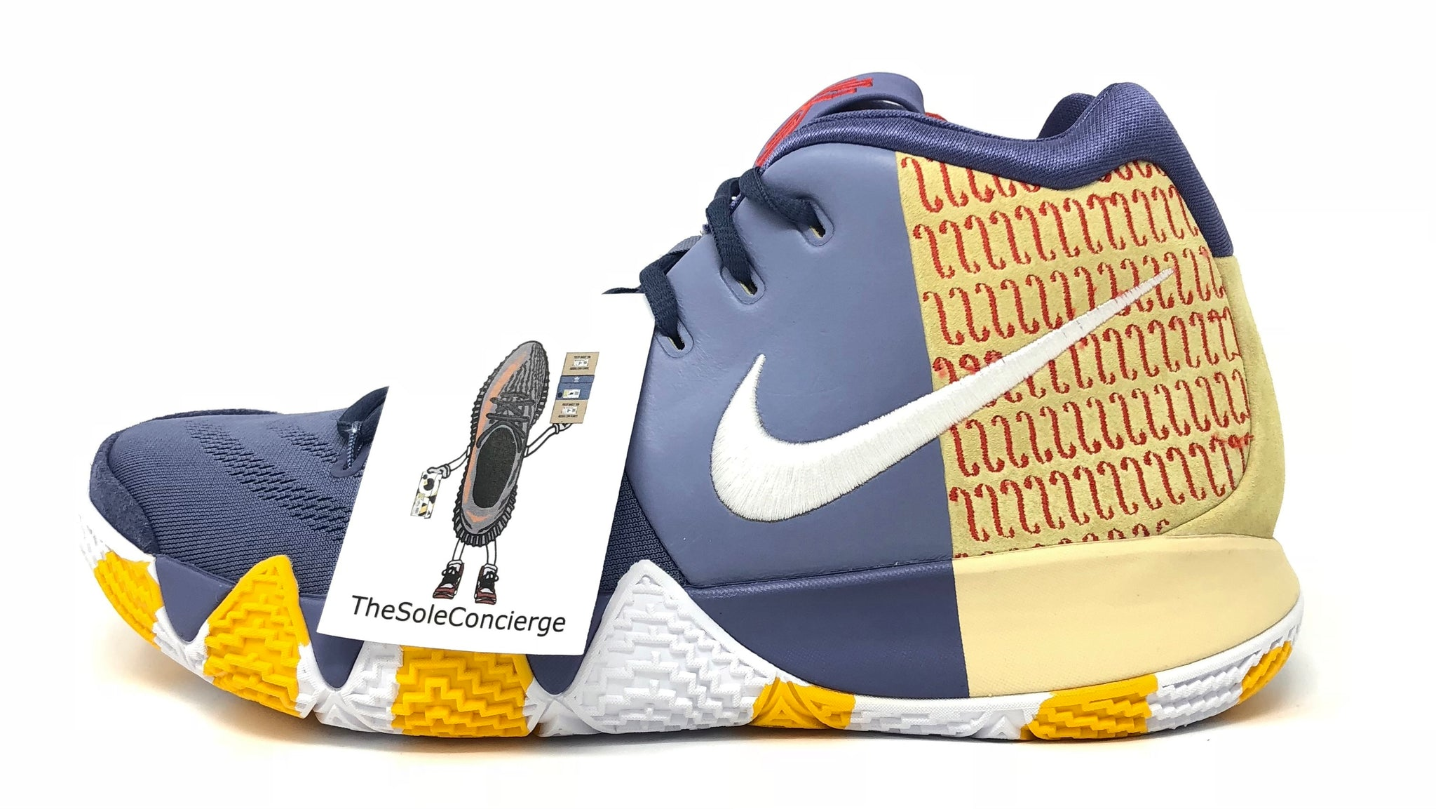 info for f265d d2f25 Nike Kyrie 4 PE London Basketball Sneakers.