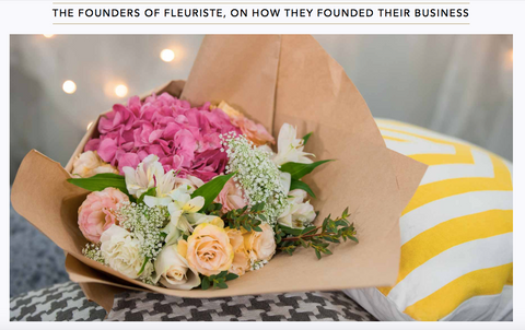Robb Report Feature on Fleuriste - Floral Flourish