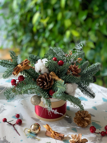 Christmas Table Arrangement