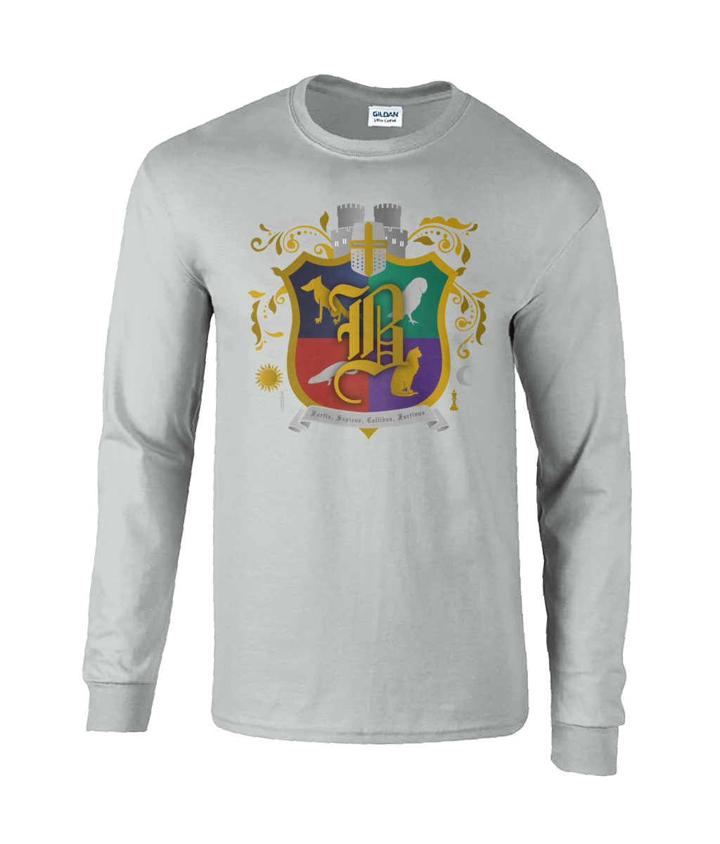 Unisex Long Sleeve Bothwell Crest T-Shirt
