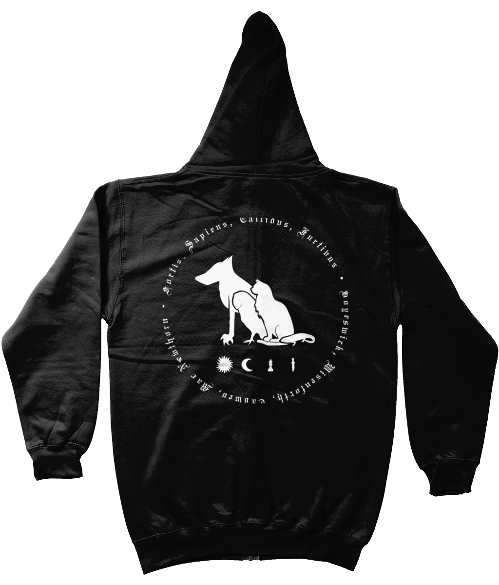 Unisex Bothwell House Familiars Zip-Up Hoodie