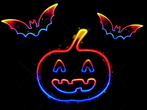 New Halloween Handmade Art Neon Sign