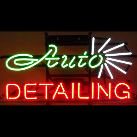 Professional  Auto Detailing Shop Neon Sign